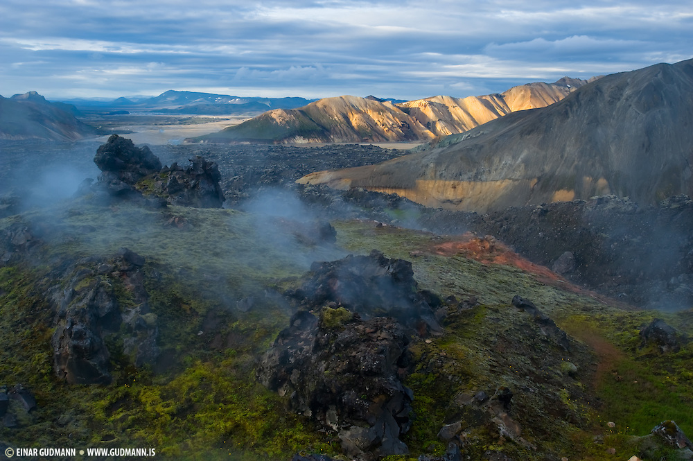 South of Iceland explains why Iceland is land of the light.