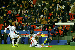 January 19, 2019 - Paris, Ile de France, France - Paris SG Forward NEYMAR JR in action during the French championship League 1 Conforama match Paris SG against EA Guingamp at the Parc des Princes Stadium in Paris - France..Paris SG won 9-0 (Credit Image: © Pierre Stevenin/ZUMA Wire)