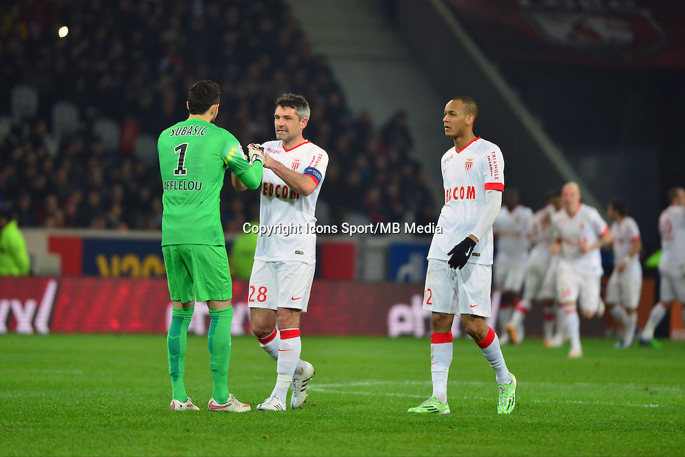 Joie Monaco  - 24.01.2015 - Lille / Monaco - 22eme journee de Ligue1<br />