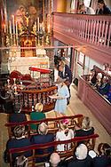 AMSTERDAM Queen M&aacute;xima attends Tuesday September 22 in Amsterdam at the opening of the renovated Ons' Lieve Heer op Solder. The museum has a new entrance building and the restoration and refurbishment of the 17th-century house has been completed with the secret attic church. COPYRIGHT ROBIN UTRECHT<br /> <br /> AMSTERDAM - Koningin M&aacute;xima woont dinsdagmiddag 22 september in Amsterdam de opening bij van het vernieuwde Museum Ons&rsquo; Lieve Heer op Solder. Het museum heeft een nieuw entreegebouw en de restauratie en herinrichting van het 17e-eeuwse huis met de verborgen zolderkerk is afgerond. COPYRIGHT ROBIN UTRECHT