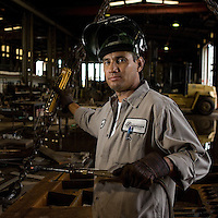 Daniel Porras, Steel Shop Laborer
