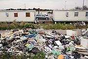 Campo rom di Castel Romano.Roma 21 ottobre 2015.  Christian Mantuano / OneShot