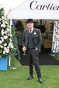 Nicky Haslam, Cartier International Polo. Guards Polo Club. Windsor Great Park. 29 July 2007.  -DO NOT ARCHIVE-© Copyright Photograph by Dafydd Jones. 248 Clapham Rd. London SW9 0PZ. Tel 0207 820 0771. www.dafjones.com.
