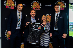 Match SHIRT Sponsors in the Chiefs Suite prior to kick off  - Mandatory by-line: Ryan Hiscott/JMP - 19/10/2019 - RUGBY - Sandy Park - Exeter, England - Exeter Chiefs v Harlequins - Gallagher Premiership Rugby
