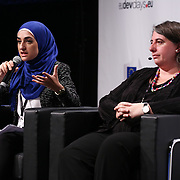 20160616 - Brussels , Belgium - 2016 June 16th - European Development Days - An economy for the 1 Percent - Ruba Ahmad Young Leader - Inequalities<br /> Jordan and Maria Shaw-Barragan , Deputy Director, Operations in Africa, Caribbean, Pacific, Asia and Latin America European Investment Bank © European Union