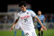 SYDNEY, AUSTRALIA - MAY 21: Kawasaki Frontale player Kazuya Yamamura (34) at AFC Champions League Soccer between Sydney FC and Kawasaki Frontale on May 21, 2019 at Netstrata Jubilee Stadium, NSW. (Photo by Speed Media/Icon Sportswire)
