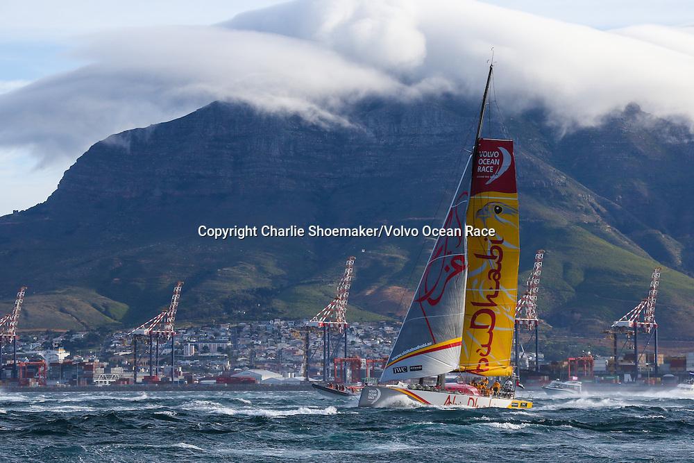 November 19, 2014. Start of Leg 2 from Cape Town to Abu Dhabi: Abu Dhabi Ocean Racing