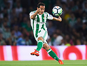 SEVILLE, SPAIN - OCTOBER 15:  Andres Guardado of Real Betis Balompie in action during the La Liga match between Real Betis and Valencia at Estadio Benito Villamarin on October 15 in Seville.  (Photo by Aitor Alcalde Colomer/Getty Images)