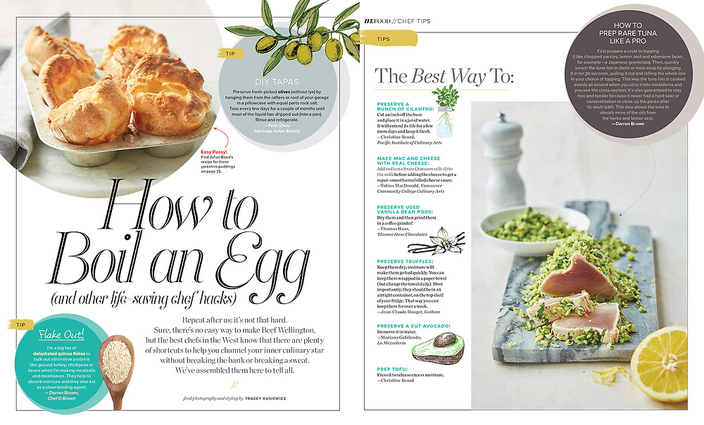 Design layout by Jenny Reed Food & Prop Styling by Tracey Kusiewicz