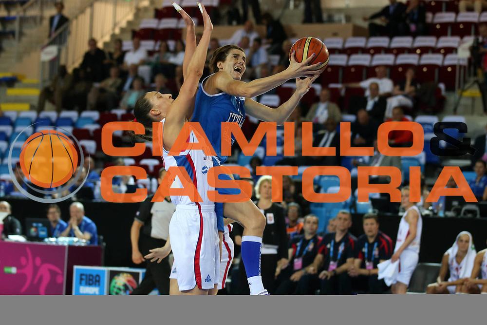 DESCRIZIONE : Orchies 26 giugno 2013 Eurobasket 2013 femminile<br /> Italia Nazionale Femminile Serbia<br /> GIOCATORE : team<br /> CATEGORIA : <br /> SQUADRA : Italia Nazionale Femminile <br /> EVENTO : Eurobasket 2013<br /> Italia Nazionale Femminile Serbia<br /> GARA : Italia Nazionale Femminile Serbia<br /> DATA : 26/06/2013<br /> SPORT : Pallacanestro <br /> AUTORE : Agenzia Ciamillo-Castoria/ElioCastoria<br /> Galleria : Eurobasket 2013<br /> Fotonotizia : Orchies 27 giugno 2013 Eurobasket 2013 femminile<br /> Italia Nazionale Femminile Serbia<br /> Predefinita :