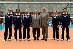 08-08-2014 NED: FIVB Grand Prix Nederland - Puerto Rico, Doetinchem<br /> Officials FIVB and referees