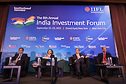 Institutional Investor's India Investment Forum at the Grand Hyatt Hotel in New York.