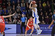 DESCRIZIONE : Eurocup 2015-2016 Last 32 Group N Dinamo Banco di Sardegna Sassari - Szolnoki Olaj<br /> GIOCATORE : David Logan<br /> CATEGORIA : Tiro Tre Punti Three Point Controcampo<br /> SQUADRA : Dinamo Banco di Sardegna Sassari<br /> EVENTO : Eurocup 2015-2016<br /> GARA : Dinamo Banco di Sardegna Sassari - Szolnoki Olaj<br /> DATA : 03/02/2016<br /> SPORT : Pallacanestro <br /> AUTORE : Agenzia Ciamillo-Castoria/L.Canu