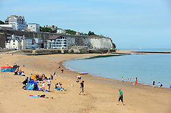 &copy; Licensed to London News Pictures. 03/06/2017<br /> Sunny weather this afternoon in Ramsgate, Kent.<br /> Photo credit: Grant Falvey/LNP