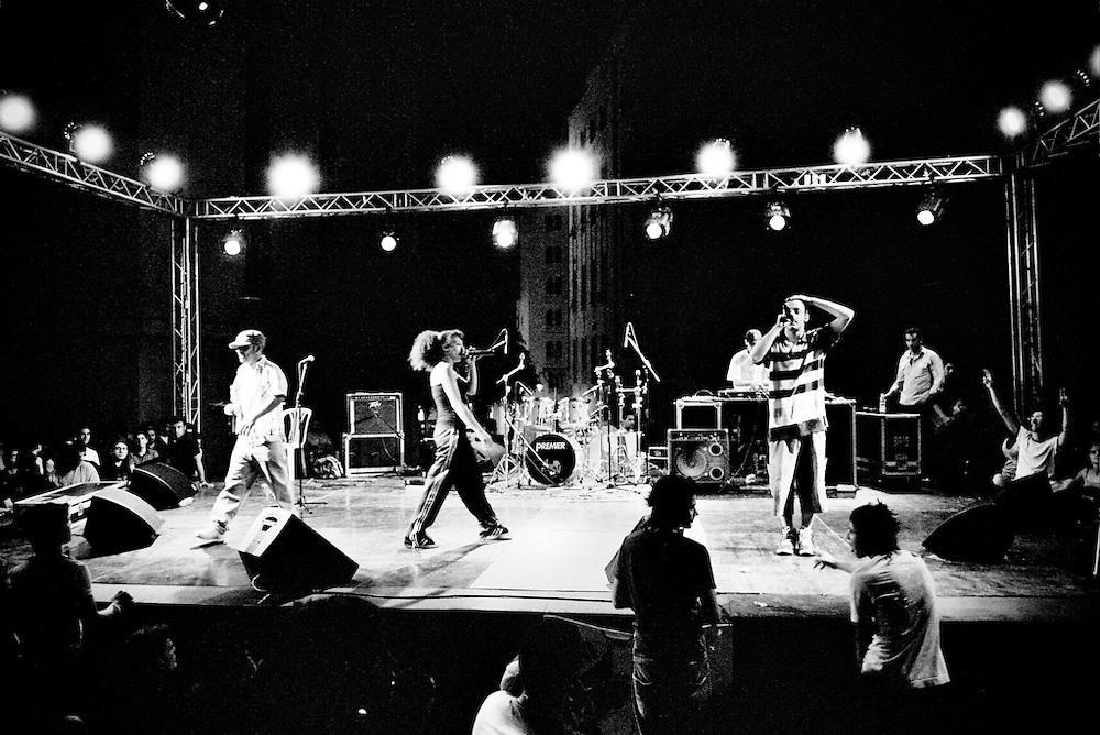 RGB, Malikah and Zoog, perform in Beirut's Music Festival. Beirut, Lebanon.