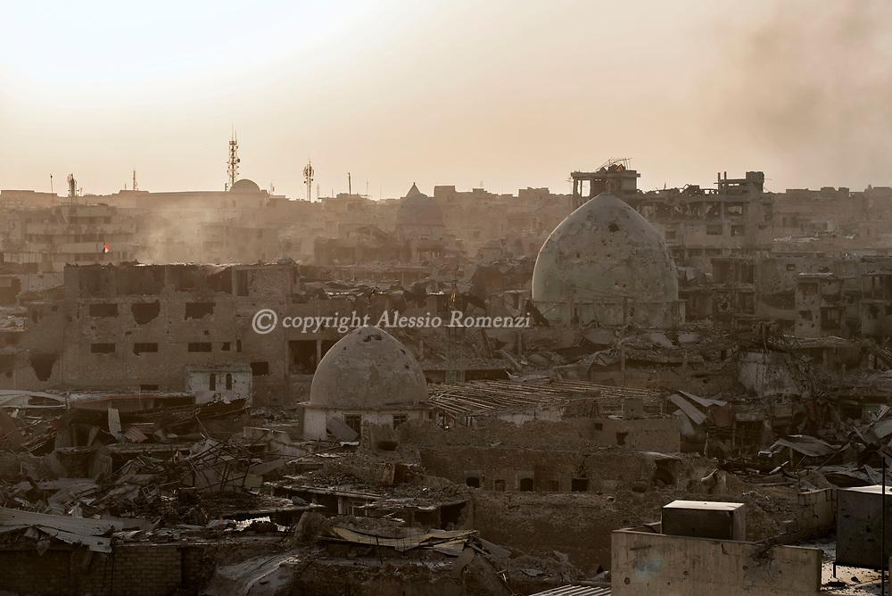 IRAQ, Mosul: The old city of Mosul. Alessio Romenzi