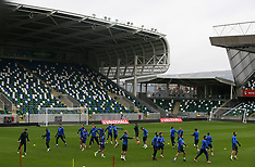 Northern Ireland Training Session and Press Conference - 04 October 2017