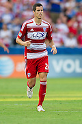 FRISCO, TX - AUGUST 11:  Matt Hedges #24 of FC Dallas looks on against the Los Angeles Galaxy on August 11, 2013 at FC Dallas Stadium in Frisco, Texas.  (Photo by Cooper Neill/Getty Images) *** Local Caption *** Matt Hedges