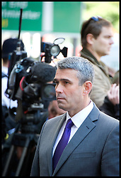 Mark Hanna, head of security at News International arrives at Westminster Magistrates Court, Wednesday June 13, 2012.Photo by Andrew Parsons/i-Images..All Rights Reserved ©Andrew Parsons/i-Images .See Special Instructions