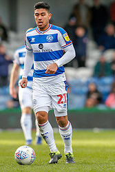 March 9, 2019 - London, England, United Kingdom - Queens Park Rangers Massimo Luongo during the second half of the Sky Bet Championship match between Queens Park Rangers and Stoke City at Loftus Road Stadium, London on Saturday 9th March 2019. (Credit Image: © Mi News/NurPhoto via ZUMA Press)