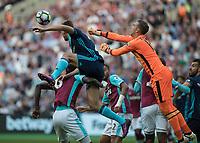 Football - 2016 / 2017 Premier League - West Ham United vs. Middesborough <br /> <br /> Adrian of West Ham punches clear at The London Stadium.<br /> <br /> COLORSPORT/DANIEL BEARHAM
