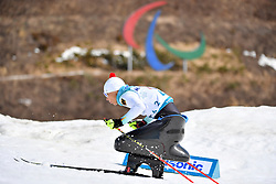 ESKAU Andrea GER LW11 competing in the ParaSkiDeFond, Para Nordic Skiing, Sprint at  the PyeongChang2018 Winter Paralympic Games, South Korea.