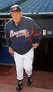 ATLANTA - OCTOBER 03:  Manager Bobby Cox #6 of the Atlanta Braves walks onto the field before the game against the Philadelphia Phillies at Turner Field on October 3, 2010 in Atlanta, Georgia.  (Photo by Mike Zarrilli/Getty Images)