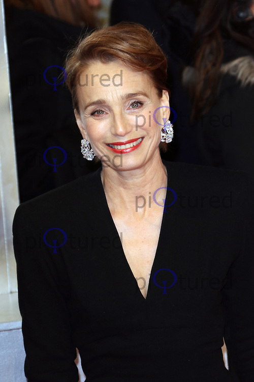 Kristin Scott Thomas, EE British Academy Film Awards (BAFTAs), Royal Opera House Covent Garden, London UK, 08 February 2015, Photo by Richard Goldschmidt