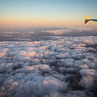 Cloud formation during Jetstar flight from Perth to Cairns