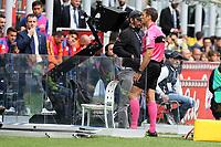 10.09.2017 - Milano - Serie A 2017/18 - 2a giornata  -  Inter-Spal nella  foto: L'arbitro Claudio Gavillucci consulta la Var e assegna il rigore all'inter