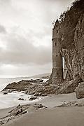 Victoria Tower On Victoria Beach In Orange County California