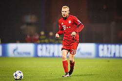 Sebastian Rode #20 of FC Bayern Munchen during football match between GNK Dinamo Zagreb and Bayern München in Group F of Group Stage of UEFA Champions League 2015/16, on December 9, 2015 in Stadium Maksimir, Zagreb, Croatia. Photo by Ziga Zupan / Sportida