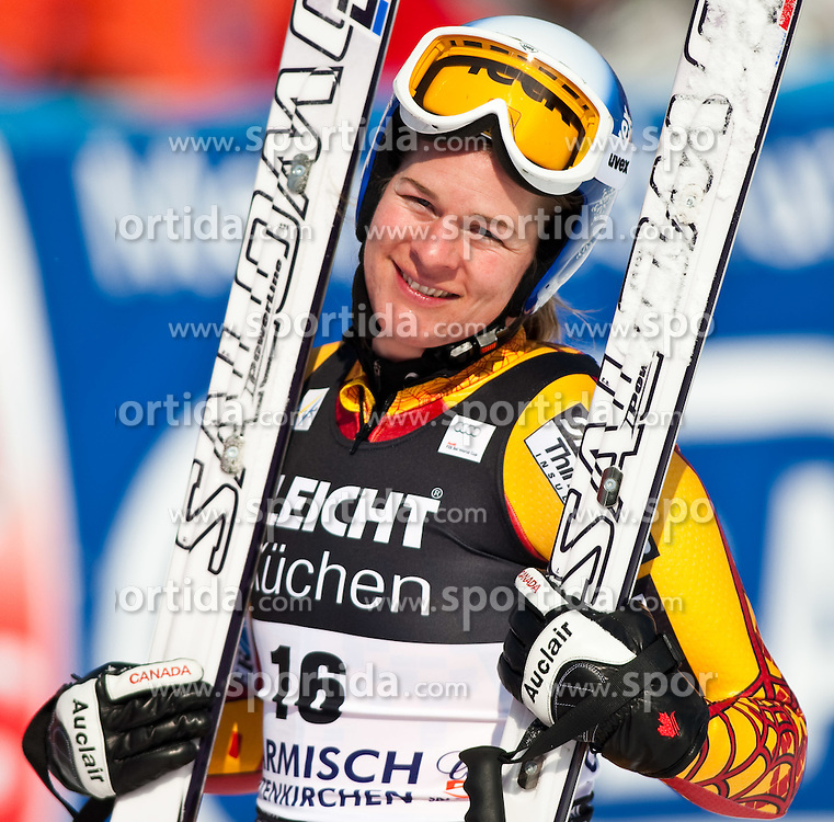 10.03.2010, Kandahar Strecke Damen, Garmisch Partenkirchen, GER, FIS Worldcup Alpin Ski, Garmisch, Lady Downhill, im Bild Brydon Emily, ( CAN, #16 ), Ski Salomon, EXPA Pictures © 2010, PhotoCredit: EXPA/ J. Groder / SPORTIDA PHOTO AGENCY