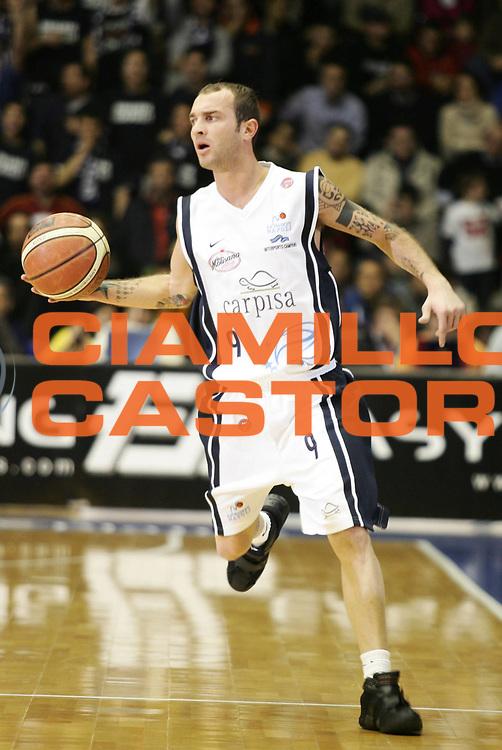 DESCRIZIONE : Napoli Lega A1 2005-06 Carpisa Napoli Navigo.it Teramo<br /> GIOCATORE : Spinelli<br /> SQUADRA : Carpisa Napoli<br /> EVENTO : Campionato Lega A1 2005-2006<br /> GARA : Carpisa Napoli Navigo.it Teramo<br /> DATA : 29/01/2006<br /> CATEGORIA : <br /> SPORT : Pallacanestro<br /> AUTORE : Agenzia Ciamillo-Castoria/A.De Lise