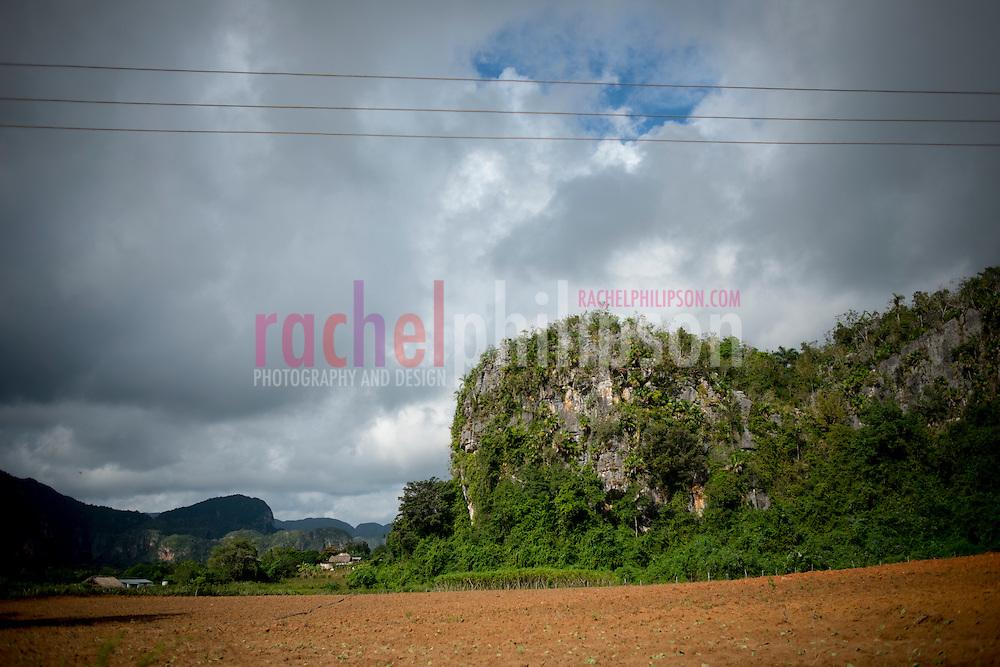 Cuba, Viñales, landscape, mountains