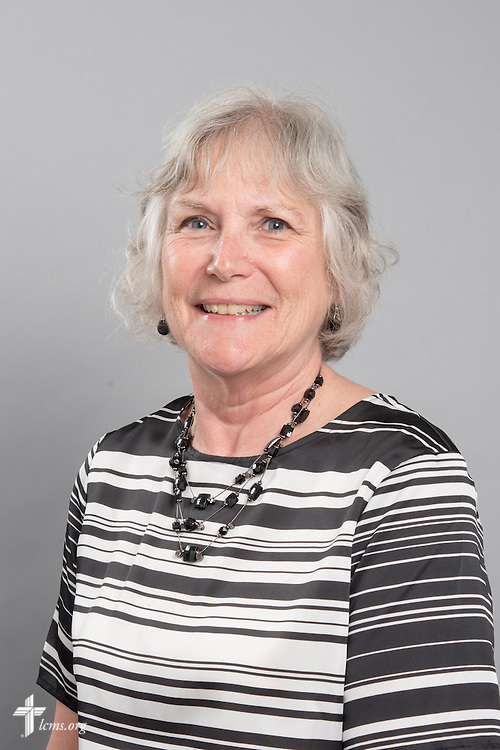 Headshot photograph of Martha Milas on Monday, June 1, 2015, at the International Center of The Lutheran Church–Missouri Synod in Kirkwood, Mo. LCMS Communications/Frank Kohn