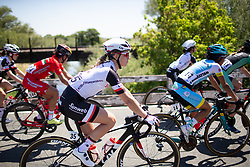 Julia Soek (NED) of Team Sunweb rides mid-pack during Stage 1 of the Amgen Tour of California - a 124 km road race, starting and finishing in Elk Grove on May 17, 2018, in California, United States. (Photo by Balint Hamvas/Velofocus.com)