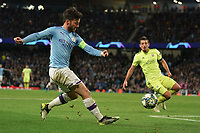 Manchester City's Bernardo Silva in action during todays match  <br /> <br /> Football - 2019 / 2020 UEFA Champions League - Champs Lge Grp C: Man City-D Zagreb<br /> <br /> , at Etihad Stadium<br /> <br /> Colorsport / Terry Donnelly