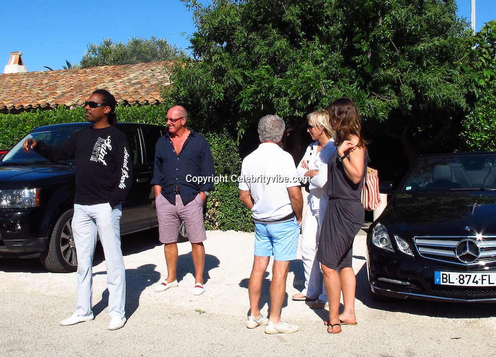 Martina Navratilova and girlfriend Julia Lemigova..Club 55 Restaurant..St Tropez, France..Wednesday, July 20, 2011..Photo By CelebrityVibe.com..To license this image please call (323) 325-4035 ; or.Email: CelebrityVibe@gmail.com ;.website: www.CelebrityVibe.com.**EXCLUSIVE**