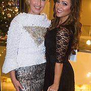 NLD/Rotterdam/20131216 - Society Lunch Silver Bells Christmas, Annette Wijdom met Tatjana Simic