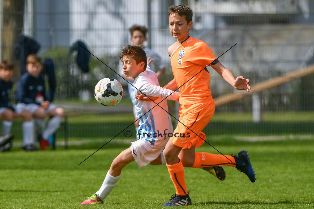 01.04.2017; Zuerich; <br /> Fussball FCZ Academy - FC Zuerich FE13 Stadt - GC Stadt; <br /> <br /> (Andy Mueller/freshfocus)