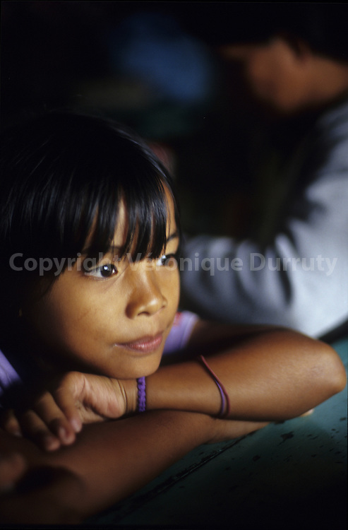 DREAMING LITTLE FILIPINA GIRL, THE PHILIPPINES