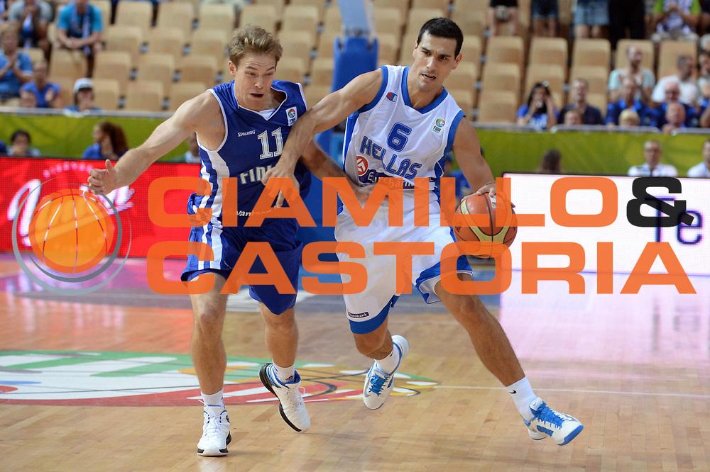 DESCRIZIONE : Capodistria Koper Slovenia Eurobasket Men 2013 Preliminary Round Grecia Finlandia Greece Finland<br /> GIOCATORE : Nikos Zisis<br /> CATEGORIA : Palleggio<br /> SQUADRA : Grecia Greece<br /> EVENTO : Eurobasket Men 2013<br /> GARA : Grecia Finlandia Greece Finland<br /> DATA : 09/09/2013<br /> SPORT : Pallacanestro&nbsp;<br /> AUTORE : Agenzia Ciamillo-Castoria/Max.Ceretti<br /> Galleria : Eurobasket Men 2013 <br /> Fotonotizia : Capodistria Koper Slovenia Eurobasket Men 2013 Preliminary Round Grecia Finlandia Greece Finland<br /> Predefinita :