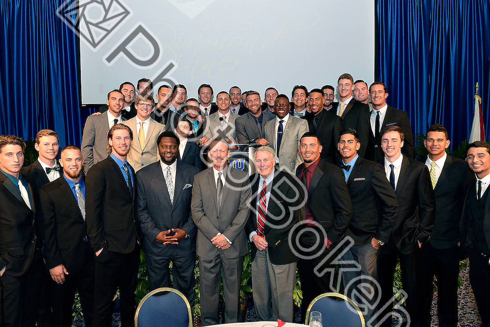 2015 February 07 - Florida International University hosted the 2015 Diamond Dinner featuring Brooks Robinson, Miami, Florida. (Photo by: Alex J. Hernandez / photobokeh.com) This image is copyright by PhotoBokeh.com and may not be reproduced or retransmitted without express written consent of PhotoBokeh.com. ©2015 PhotoBokeh.com - All Rights Reserved