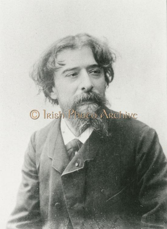 'Alphonse Daudet (1840-1897) French novelist, playwright and poet.'