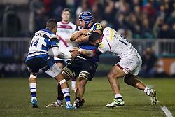- Photo mandatory by-line: Rogan Thomson/JMP - 07966 386802 - 28/03/2014 - SPORT - RUGBY UNION - The Recreation Ground, Bath - Bath Rugby v Sale Sharks - Aviva Premiership.
