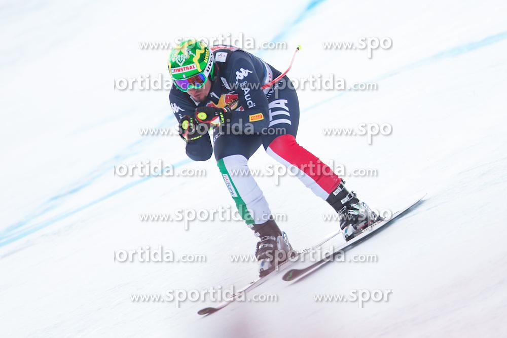 19.01.2016, Streif, Kitzbuehel, AUT, FIS Weltcup Ski Alpin, Kitzbuehel, 1. Abfahrtstraining, Herren, im Bild Dominik Paris (ITA) // Dominik Paris of Italy in action during 1st Training of the men's Downhill Race of Kitzbuehel FIS Ski Alpine World Cup at the Streif in Kitzbuehel, Austria on 2016/01/19. EXPA Pictures © 2016, PhotoCredit: EXPA/ Johann Groder