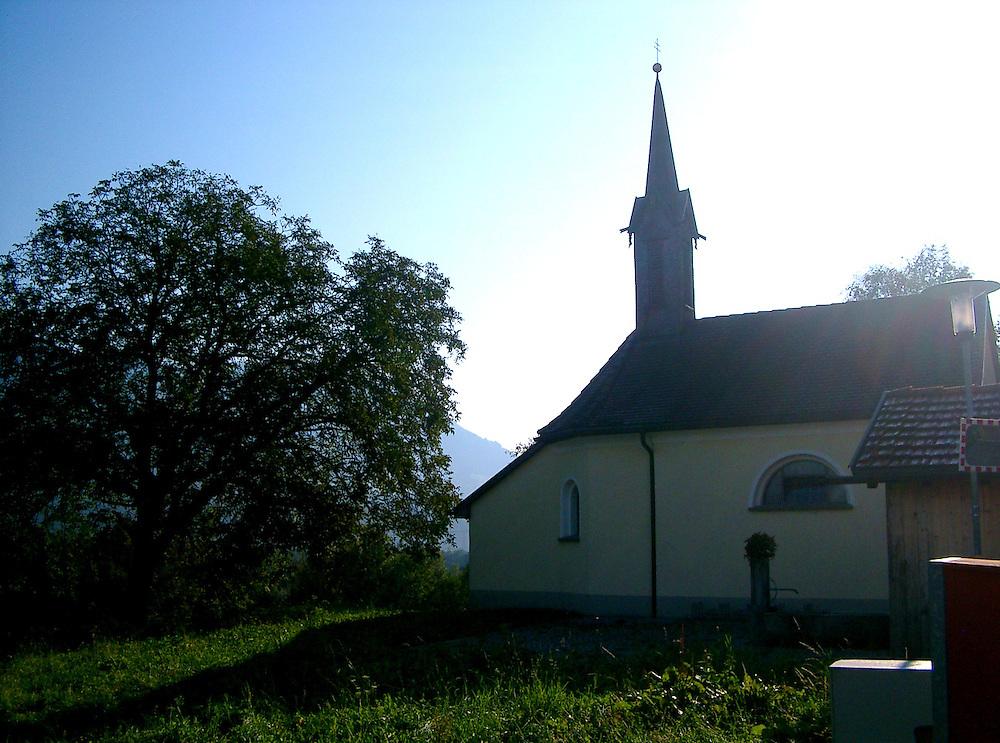 little church in Austria Vorarlberg