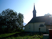 little church in Austria Vorarlberg