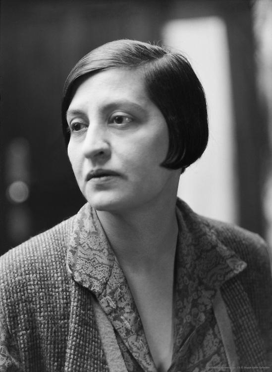 Halide Edip Adivar, novelist, feminist and political leader, 1927